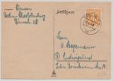 Berlin, Vorläufer, 1945, 6 Pfg.- AM- Post in Berlin verwendet! Als EF auf Fernpostkarte von Berlin nach Ludwigslust