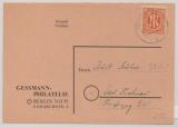 Berlin, Vorläufer, 1946, 8 Pfg.- AM- Post in Berlin verwendet! Als EF auf Orts- Postkarte innerhalb Berlin´s