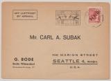 Berlin, 1948, Mi.- Nr.: 11 als EF (!!!) auf Luftpost- Auslandsbrief von Berlin nach Seattle (USA), mit Luftbrückenstempel