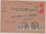 Berlin, 10.1949, Mi.- Nr.: 23 (2x) + 42 (4x) als MiF (!!!) auf Fernbrief von Berlin nach Bethel