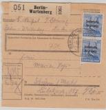 194 (2x) als reine MeF auf Paketkarte, sehr selten!