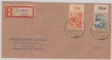 Cottbus Nr. 3 + 16 als MiF (je vom OR) auf E.- Brief nach Berlin