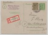 Berlin / BrB., 1946, 5 RPfg.- GS (Mi.- Nr.: P3d) + Mi.- Nr.: 7 als Zusatz, gelaufen als Orts- R- Postkarte innerhalb von Berlin