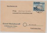 DDR, 1949, Mi.- Nr.: 242 in EF auf Auslandsbrief von Pösneck nach Basel (CH) (Seltener als man denkt oder der Michel sagt!)