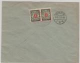 131- 37 als u.a MiF auf Lupo- Satz- Einschreiben- Fernbrief von Danzig nach Berlin