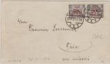 176 MeF auf Auslandsbrief