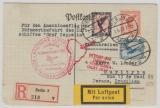 DR 382 u.a., zum Anschlußflug der 4. Südamerikafahrt nach Brasilien