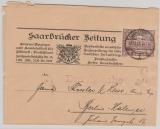 87 als EF auf Streifband- Drucksache von Saarbrücken nach Berlin