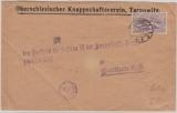 Oberschlesien, Nrn.: 28 als EF auf Fernbrief von Tarnowitz nach Beuthen, gepr Gruber BPP