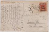 Nr.: 211 als EF auf Postkarte von Nida nach Neuhaus / Elbe