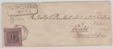 Nr.: 4, als Ef auf Fernbrief von Heidelberg nach Wiehl