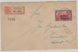 136- 51, kompletter Satz auf einem E.- Ortsbrief (vs. u. rs. ) innerhalb Münchens, mit Ankunftsstempel